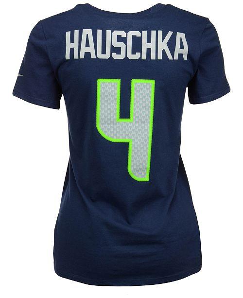 Women's Steven Hauschka Seattle Seahawks Player Pride T-Shirt