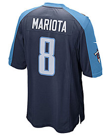 Nike Kids' Marcus Mariota Tennessee Titans Game Jersey, Big Boys (8-20)