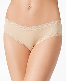 Natori Bliss 3-Pk. Lace-Trim Cotton Brief 156058MP