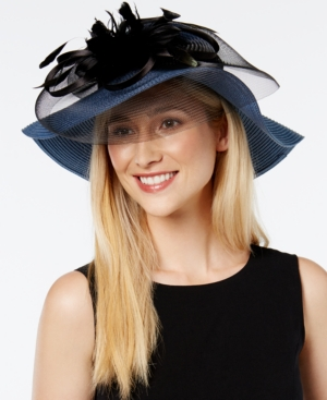 Edwardian Style Hats, Titanic Hats, Derby Hats August Hats Graceful Wide Brim Dress Hat $43.40 AT vintagedancer.com