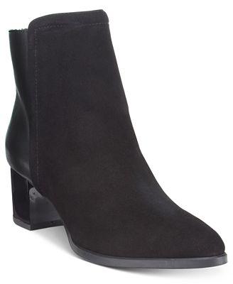 Bandolino Planta Block-Heel Booties