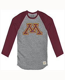 Men's Minnesota Golden Gophers Color Block Long Sleeve T-Shirt