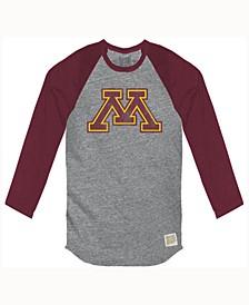 Men's Minnesota Golden Gophers Color Block Long Sleeve T-Shirt