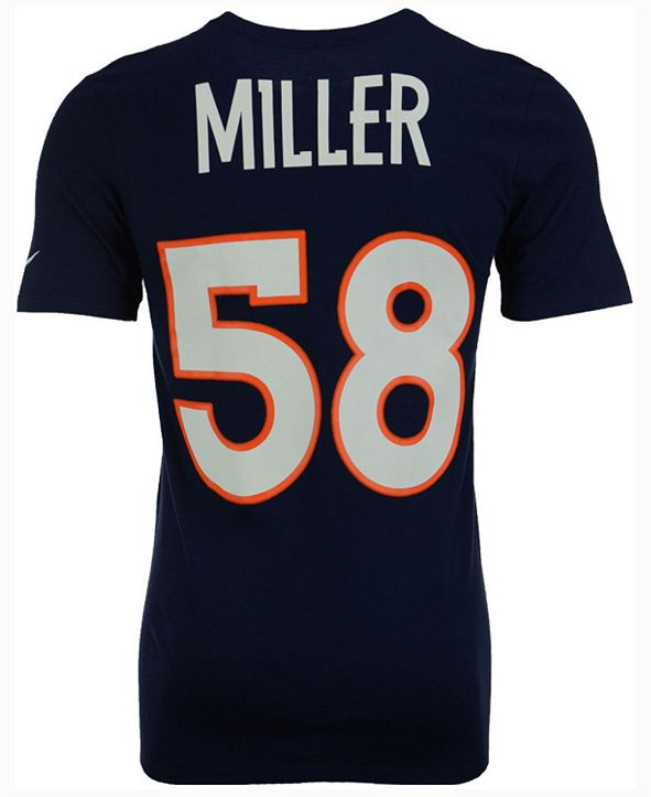 Nike Men's Von Miller Denver Broncos Pride Name and Number T-Shirt