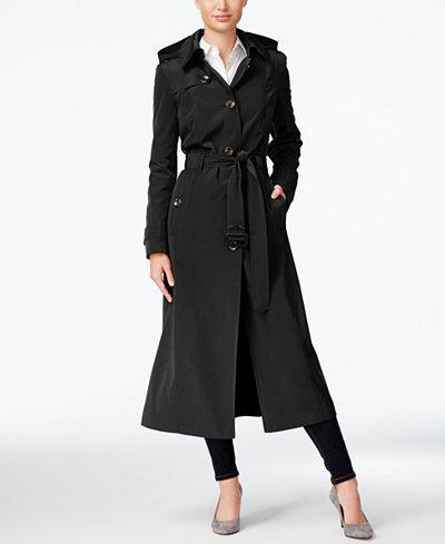 Black trench coat petite — img 7
