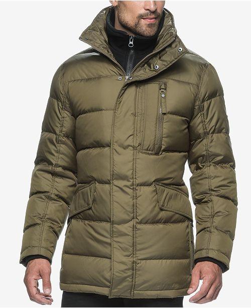 9e0a08d2d40 Marc New York Puffer Coat with Attached Bib   Reviews - Coats ...