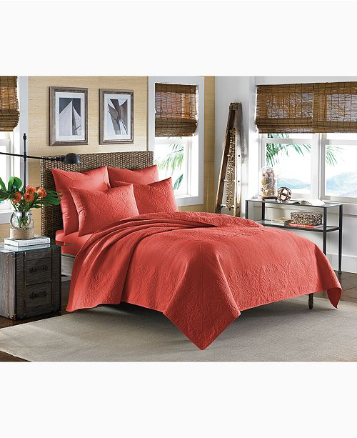Tommy Bahama Home Nassau Spice King Quilt