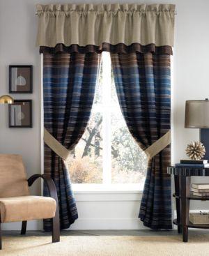 "Croscill Clairmont Tailored 88"" x 18"" Window Valance Bedding 2898791"