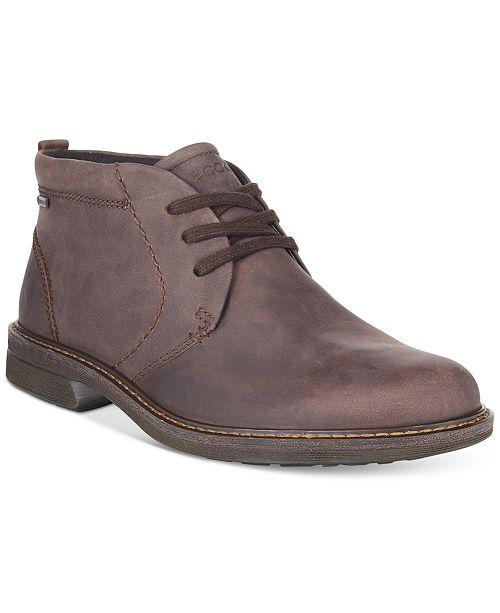 764e343ab51 Ecco Men's Turn Gtx Chukka Boots & Reviews - All Men's Shoes - Men ...