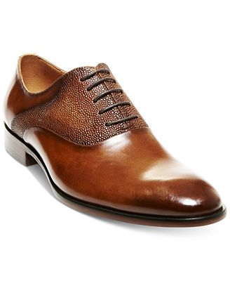 Steve Madden Men's Prymm Plain-Toe Dress Lace-Ups