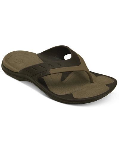 Crocs? Men's MODI Sport Flip-Flops
