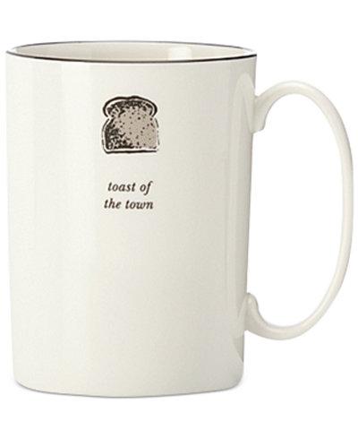 kate spade new york Cause A Stir Toast of the Town Mug