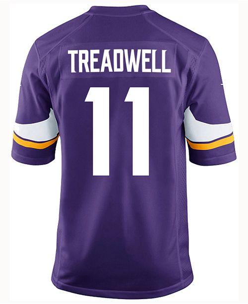 Nike Men's Laquon Treadwell Minnesota Vikings Game Jersey