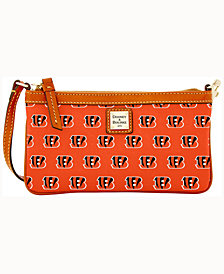 Dooney & Bourke Cincinnati Bengals Large Slim Wristlet
