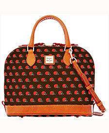 Dooney & Bourke Cleveland Browns Dooney & Bourke Zip Zip Satchel