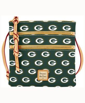 Green Bay Packers Triple-Zip Crossbody Bag