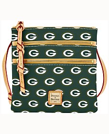 Dooney & Bourke Green Bay Packers Triple-Zip Crossbody Bag