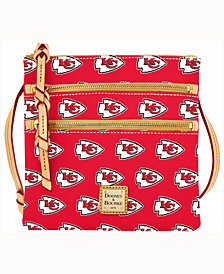 Dooney & Bourke Kansas City Chiefs Triple-Zip Crossbody Bag