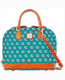 Dooney & Bourke Miami Dolphins Dooney & Bourke Zip Zip Satchel