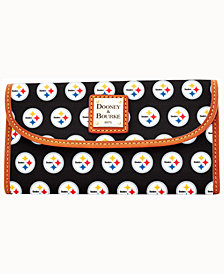 Dooney & Bourke Pittsburgh Steelers Clutch