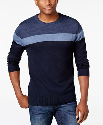 Tricots St. Raphael Men's Colorblocked Sweater