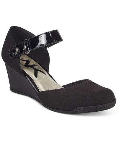 Anne Klein Sport Tasha Wedge Pumps Pumps Shoes Macy S