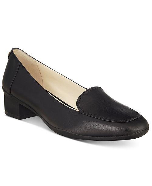 41e137c5a21 Anne Klein Daneen Block-Heel Pumps   Reviews - Pumps - Shoes - Macy s