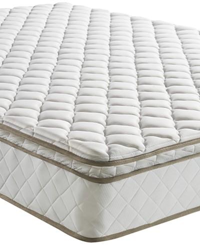 Sleep Trends Davy Twin 10 Wrapped Coil Pillowtop Firm Mattress, Quick Ship, Mattress in a Box