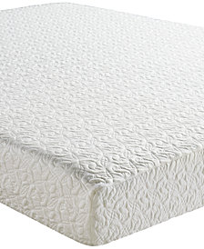 "Sleep Trends Mina 8"" Classic Memory Foam Firm Tight Top Mattresses, Quick Ship, Mattress in a Box"