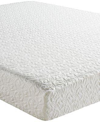 Sleep Trends Mina 8 Classic Memory Foam Firm Tight Top Mattresses