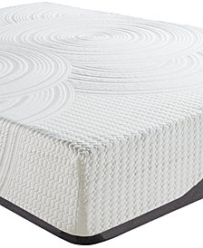 "Sleep Trends Orvil 12"" Classic Gel Memory Foam Cushion Firm Tight Top Mattresses, Quick Ship, Mattress in a Box"