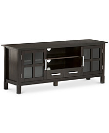 "Rockville 60"" Wide TV Stand, Quick Ship"