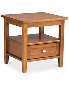 Burbank End Table, Quick Ship