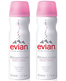 evian® Mineral Water Facial Spray Duo