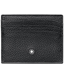 Montblanc Meisterstück Black Soft Grain 6 Pocket Holder 113309