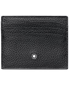 Montblanc Meisterstück Black Soft Grain 6 Pocket Holder 113309