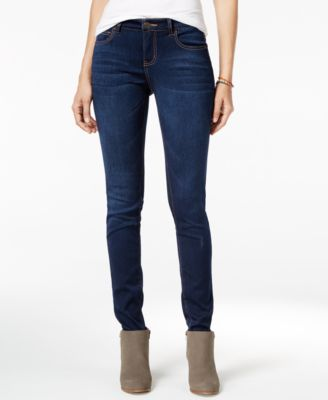 Celebrity pink skinny jeans blue