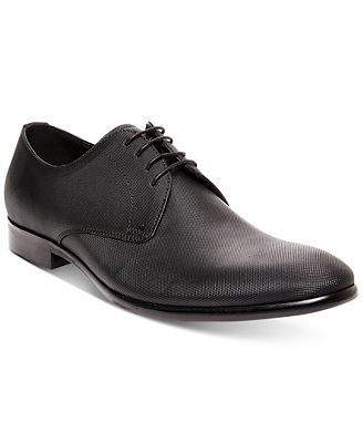 Steve Madden Men's Joter Embossed Dress Lace-Up Oxfords