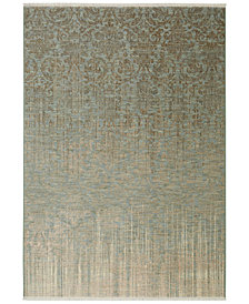 Karastan Titanium Tiberio Seaglass Area Rug Collection