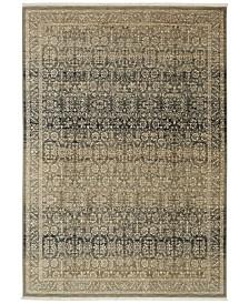 "Karastan Titanium Verta Gray 3'6"" x 5'6"" Area Rug"