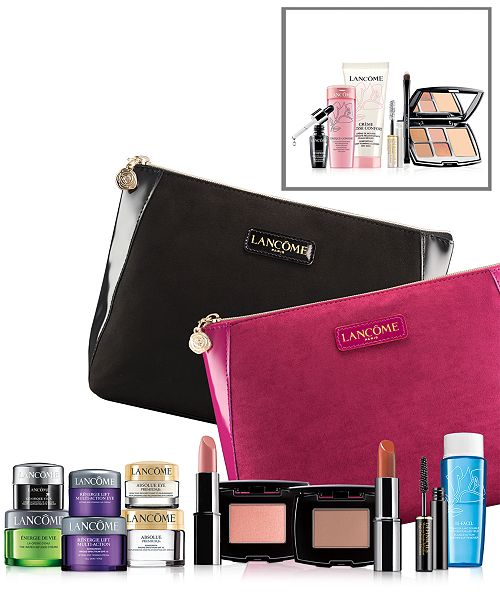 f3971b80a5d ... Lancome Receive a FREE 7-Pc. gift with a $35 Lancôme purchase ...