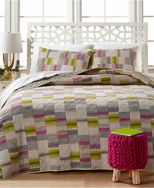 Peking CLOSEOUT! Bright Lights Quilted Standard Sham
