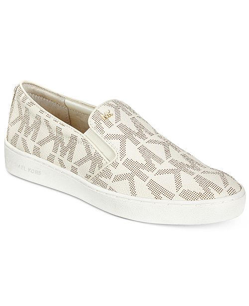 bf6c86e37399 Michael Kors Keaton Slip-On Sneakers   Reviews - Athletic Shoes ...