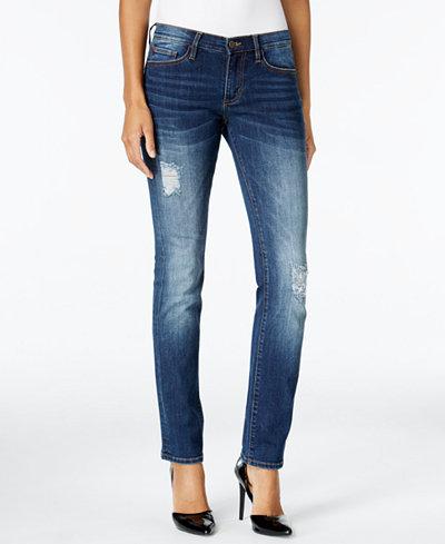 Buffalo David Bitton Faith Straight-Leg Jeans
