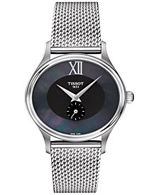 Tissot Women's Swiss Bella Ora Stainless Steel Mesh Bracelet Watch 31mm T1033101112300