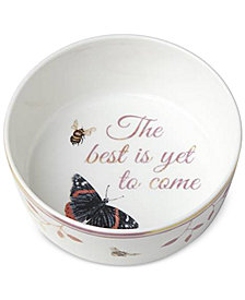 Lenox Butterfly Meadow Everyday Celebrations The Best Is Yet To Come Bowl