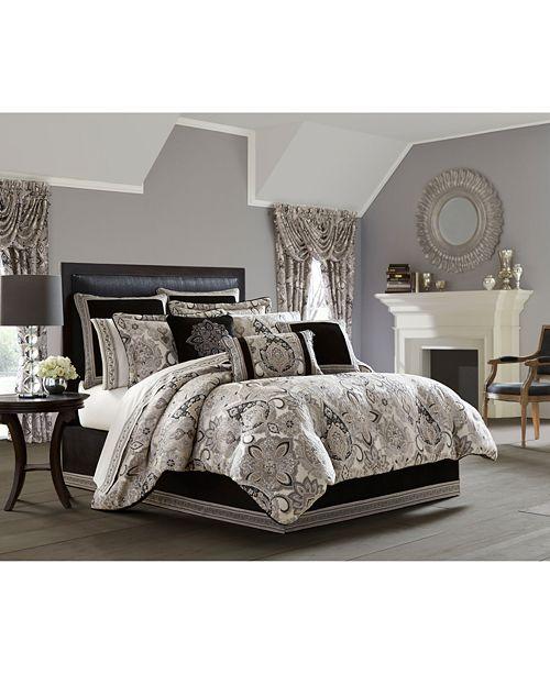 J Queen New York 4 Pc Giuliana California King Comforter Set Bedding Collections Bed Bath Macy S