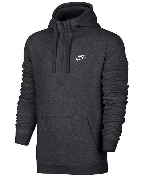 800f2cc73 Nike Men's Half-Zip Hoodie & Reviews - Hoodies & Sweatshirts - Men ...