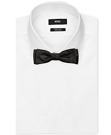 BOSS Men's Solid Silk Bow Tie
