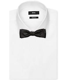 BOSS Men's Solid Silk Bow Tie